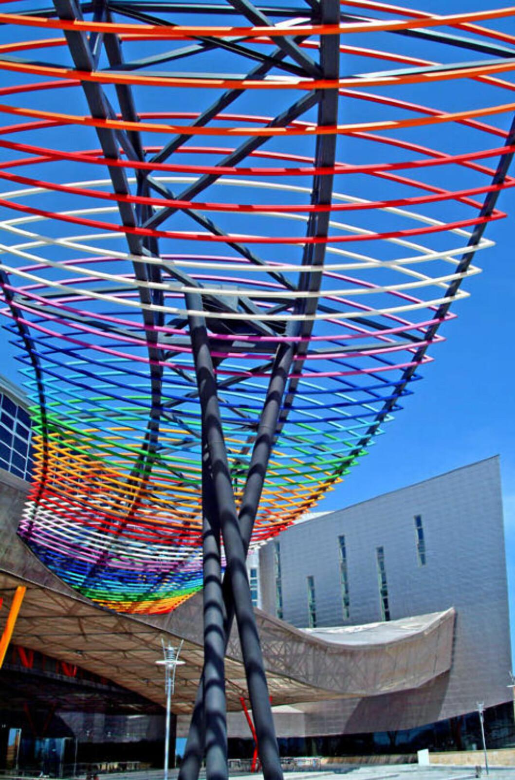 IKON: Messe- og kongressenteret, tegnet av arkitekt Angel Asenjo, er med på å gi Málaga ny stolthet. Foto: NINA HANSEN