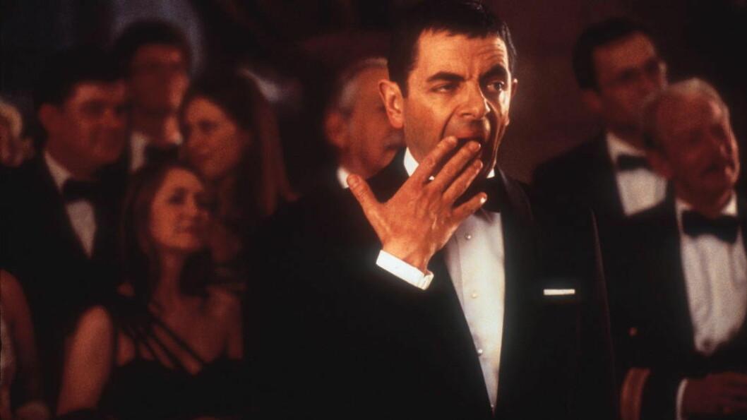PREMIEREKLAR: Johnny English Reborn har premiere på 145 norske kinoer i kveld. Hovedrolleinnehaver Rowan Atkinson er opptatt av publikums reaksjon, men tror at filmkritikerne synes humoren hans er for enkel. Foto: Scanpix
