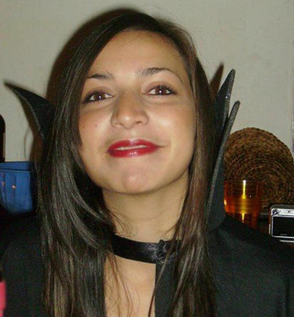 DREPT: Britiske Meredith Kercher (21) var utvekslingsstudent i Italia da hun ble drept 1. november 2007. Foto: AP Photo/Italian Police/SCANPIX