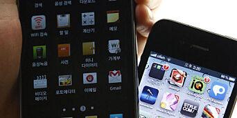 image: Nå slår Samsung tilbake mot Apple
