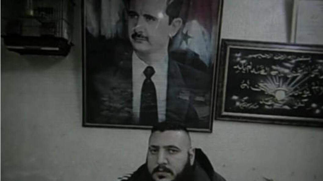 <strong>MOBILBILDER:</strong> Bildene i videoen skal være fra en mobiltelefon som en av Shabeehaen mistet under opptøyene. Demonstrantene la bildene ut på Youtube.  Foto fra filmen.