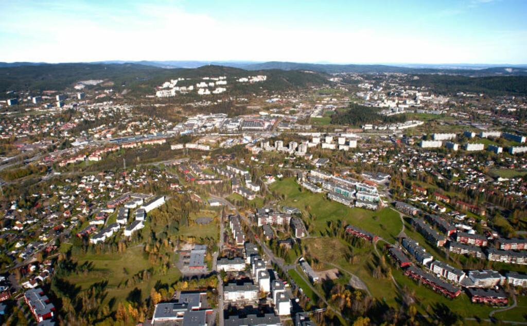 GRORUDDALEN:  Bydelene Bjerke, Grorud, Alna og Stovner hadde 131 720 innbyggere i 2010, av disse hadde ... mer enn en million i formue. Det viser skattelistene for 2010 som ble lagt fram idag. Foto: Øistein Norum Monsen / Dagbladet