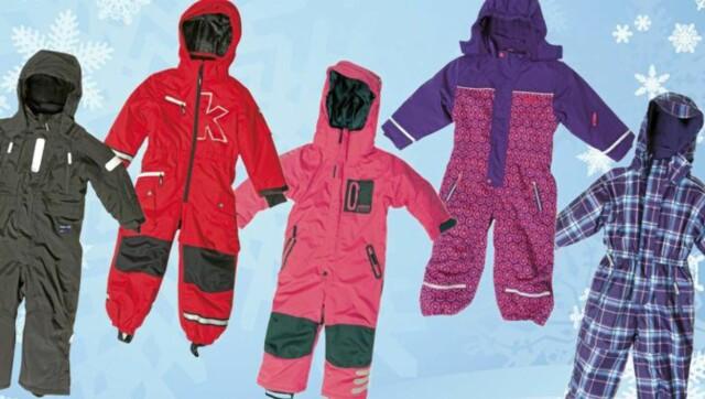 0b5701ca TØFF TEST: Et utvalg av dressene vi har testet. Den dyreste er også best