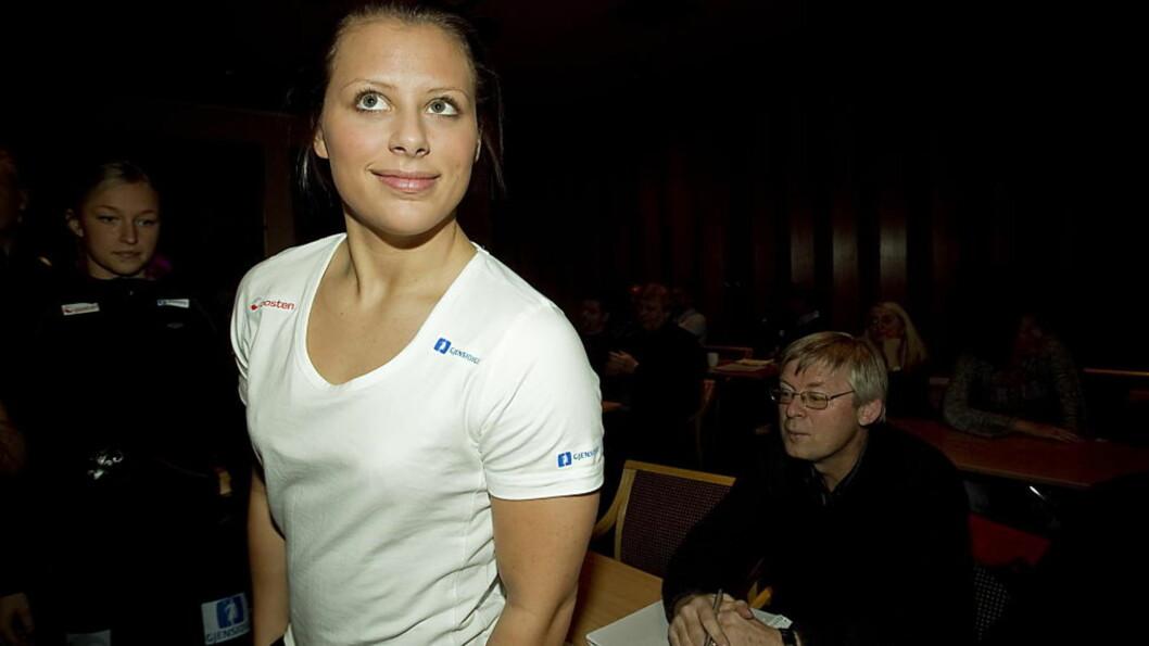 <strong>SER MØRKT UT:</strong> Nora Mørk kan ikke spille VM likevel. Foto: Bjørn Langsem / Dagbladet.