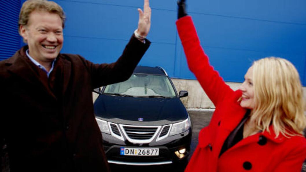 <strong> LYSPUNKT:</strong>  Saab 9-3X ble i 2009 kåret til lesernes favorittbil. Fagjuryen valgte det samme året Toyota Prius som «Årets Bil». Foto: KRISTER SØRBØ