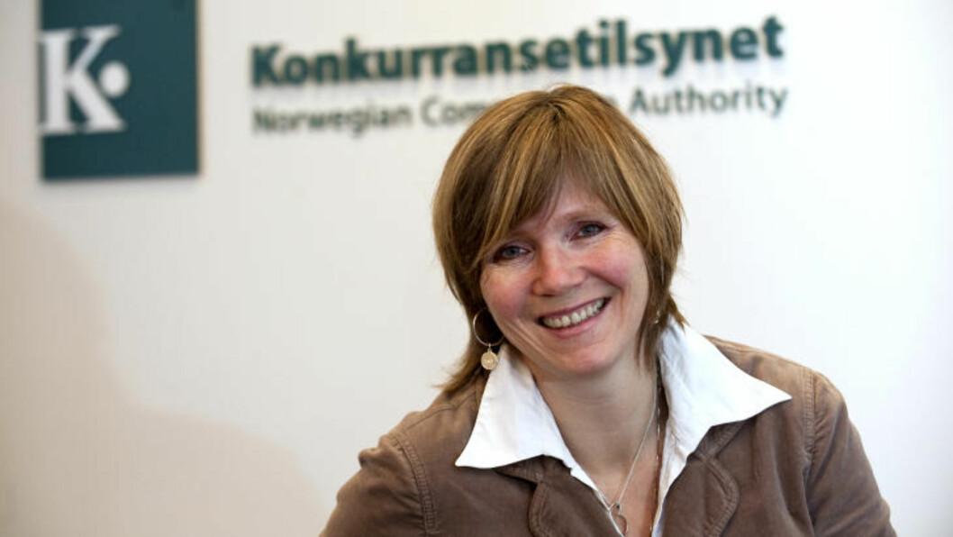VURDERER SANKSJONER: Direktør i Konkurransetilsynet Christine Meyer.
