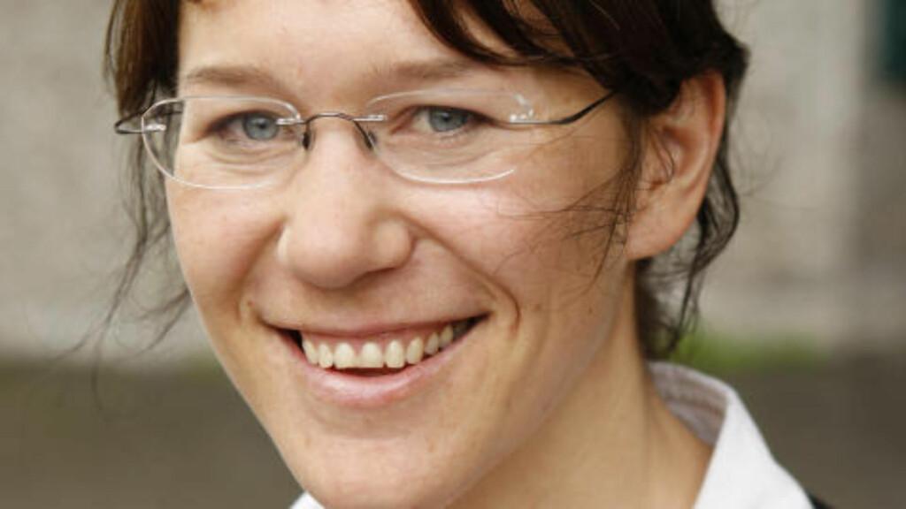 Anine Kierulf er en av kronikkforfatterne. Foto: Erlend Aas / SCANPIX
