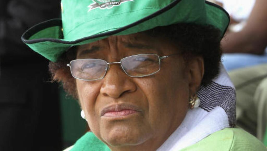 Prisvinner: Liberias president Ellen Johnson Sirleaf. Foto: Scanpix