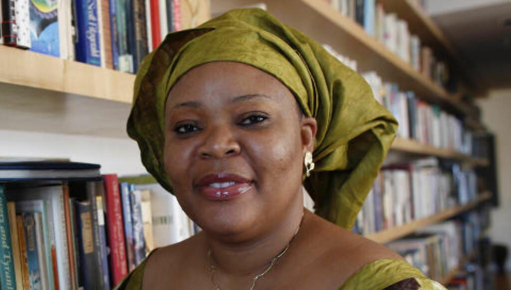 Prisvinner: Den liberiske fredsaktivisten Leymah Gbowee. Foto: Scanpix