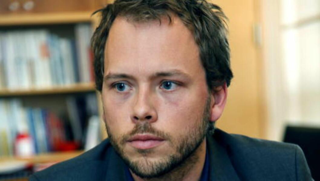 <strong>POLITIANMELDTE:</strong> Barne- og likestillingsminister Audun Lysbakken (SV) har også forlangt tilbakebetaling av millioner av kroner fra SOS Rasisme. Foto: Jacques Hvistendahl