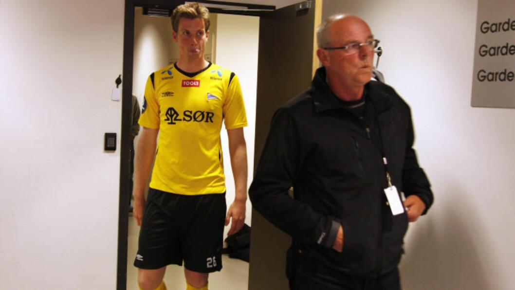 <strong>HJALP SØNNEN:</strong> Svein Mathisen hjalp sønnen Jesper da han slet med spillegalskap.  Foto Tor Erik Schrøder / SCANPIX .