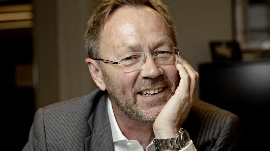 <strong>NY SJEFREDAKTØR:</strong> John Arne Markussen (58). Foto: Lars Eivind Bones
