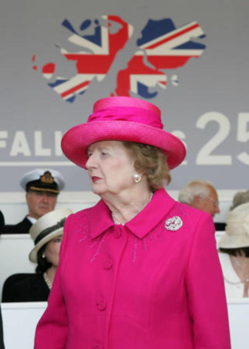 VAR ORIENTERT? Mann er åpen på at han og kuppbakmann Mark Thatcher var på ferie med Maggie Thatcher før kuppet. Foto: AP/Ian Jones/Scanpix
