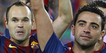 image: Nå vil Xavi og Iniesta se blod