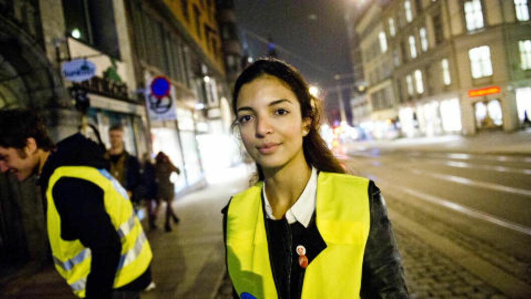 <strong>ET ANSIKT:</strong> Louiza Louhibi.sier det er viktig at voldtektsofrene får et ansikt, og ikke bare blir statistikk. Foto: Håkon Eikesdal