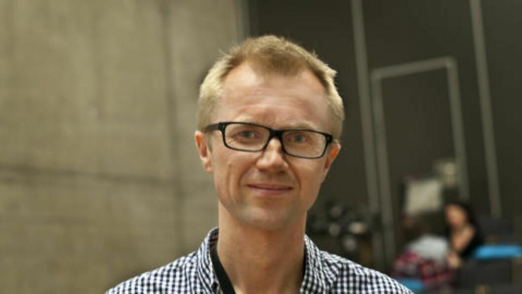 <strong>STAS:</strong> NRK-redaktør Håkon Moslet synes det er både stas og nødvendig med «Trekant»-sesong nummer to. Foto: Melisa Fajkovic / Dagbladet