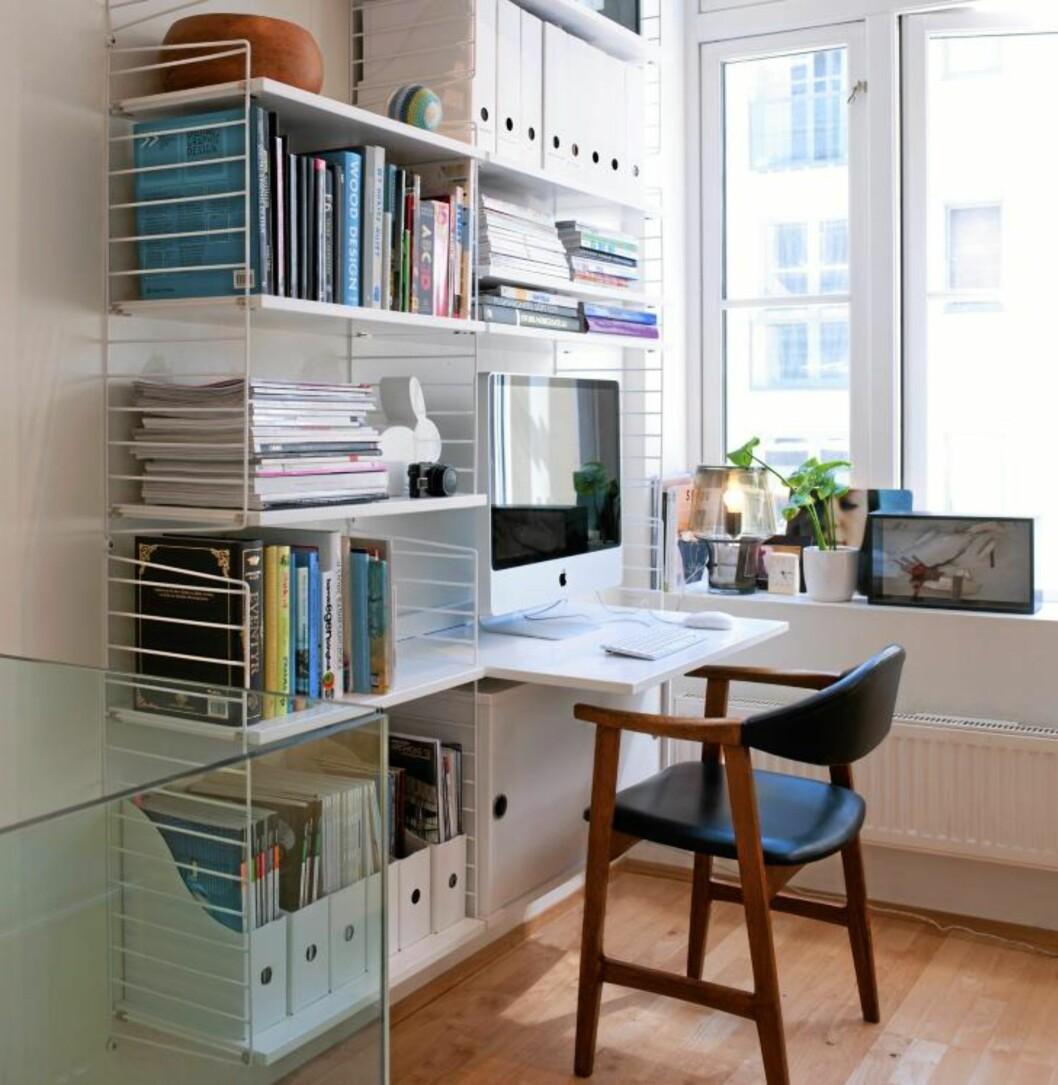 <strong>FLEKSIBEL OG LUFTIG:</strong> Det svenske systemet String er kanskje ikke så hjemmekoselig, men desto mer effektivt.  Foto: Espen Grønli