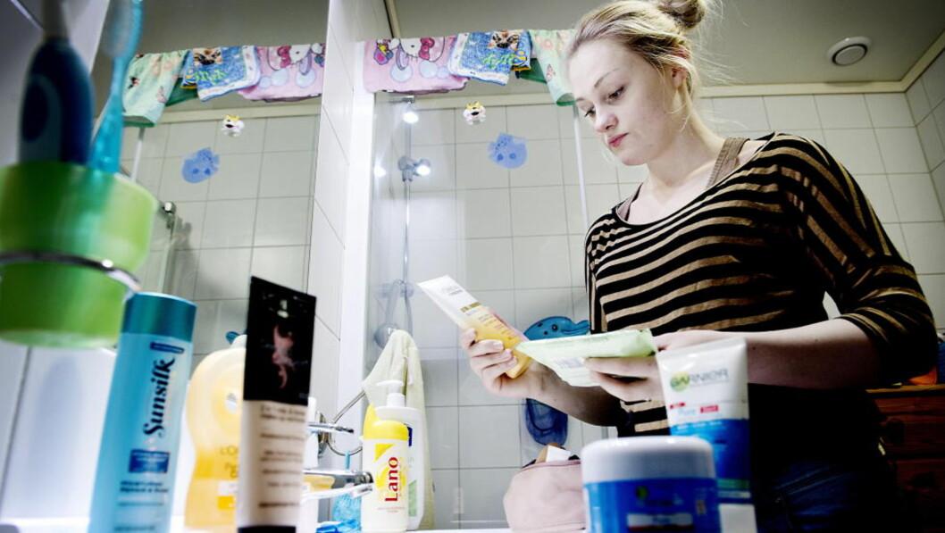Strengt regelverk: «EU har et meget strengt regelverk og det slår fast at kosmetiske produkter skal være trygge og ikke gi helseskader», skriver artikkelforfatteren. Illustrasjonsfoto. John Terje Pedersen