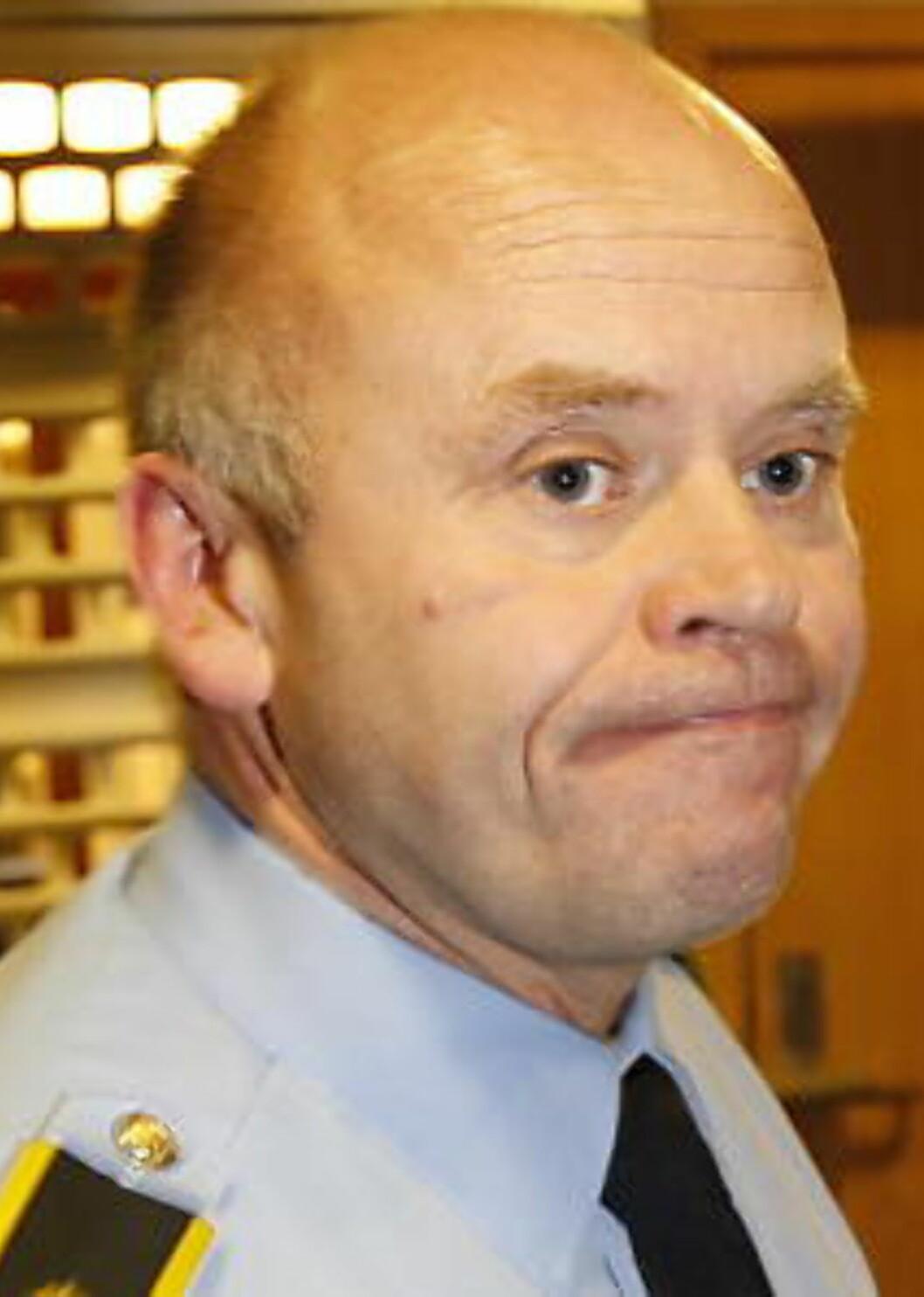<strong>ETTERFORSKER:</strong> Politioverbetjent ved  Haugesund politistasjon, Torbjørn Nervik. Foto: ERLING HÆGELAND/DAGBLADET