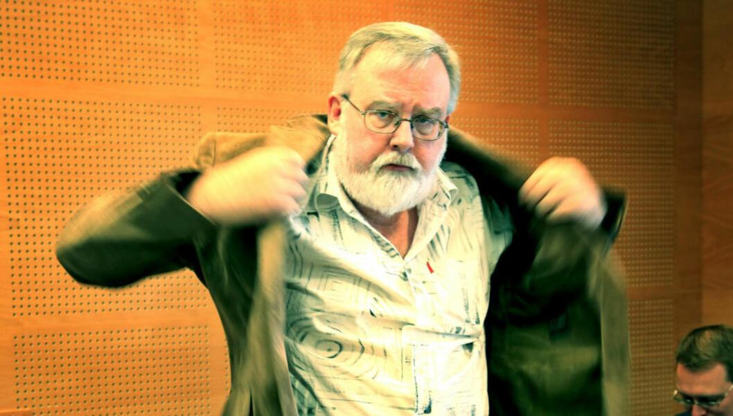 <strong>ETTERFORSKES FOR TRYGDESVINDEL:</strong> NAV politianmeldte daglig leder KJell Gunnar Larsen (55) i SOS Rasisme tidlig i høst for trygdesvindel. Nå etterforsker politiet saken. Foto: Jacques Hvistendahl