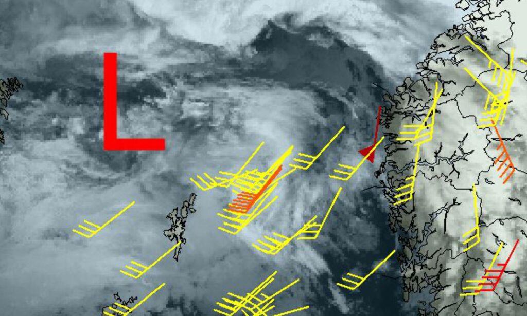 image: - Det blåser opp!