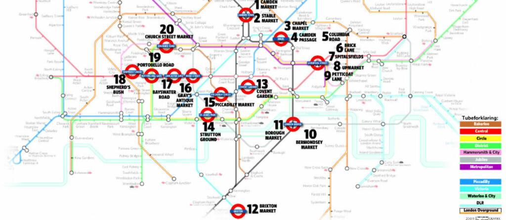 london bydeler kart Verdensberømte for utvalget av smykker, klær og kunst   Dagbladet london bydeler kart