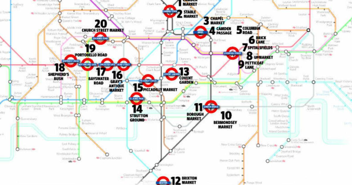 london bydeler kart Trodde du at London bare var Oxford Street, Soho, Harrods og  london bydeler kart