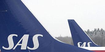 image: SAS-fly begynte å riste etter motorsmell