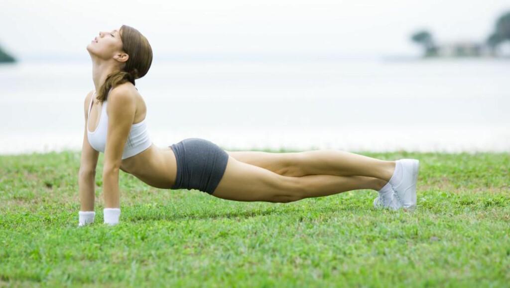 Treningsglede uansett alder: Øvelsene du skal legge vekt på som 50-åring, er ikke nødvendigvis de samme som da du var 20. Foto: Colourbox.