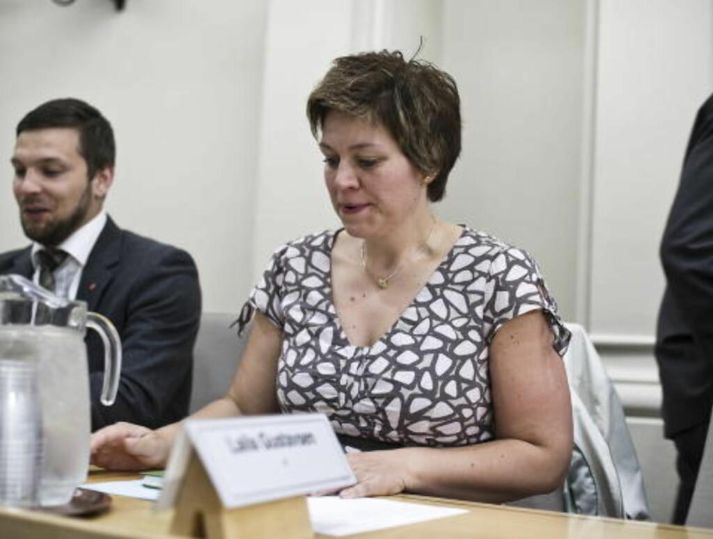 PÅ STORTINGET: Martes mor Laila Gustavsen representerer Buskerud Ap på Stortinget. Foto: ALEKSANDER ANDERSEN / SCANPIX