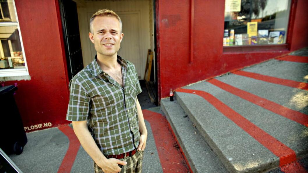 <strong>Fan med forbehold:</strong> Forfatter Tore Renberg er kjempefan av Morrissey, men mener artisten er en løs kanon man må se på med en viss overbærenhet. Foto: Lars Eivind Bones/Dagbladet