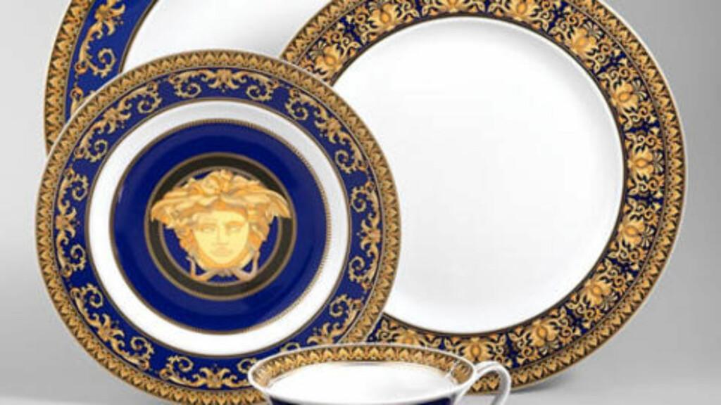 SIER HAN SOLGTE 40-DELERS SERVISE: For sitt Versace-Rosenthal-middagssett skal Breivik ha fått 5000 euro.
