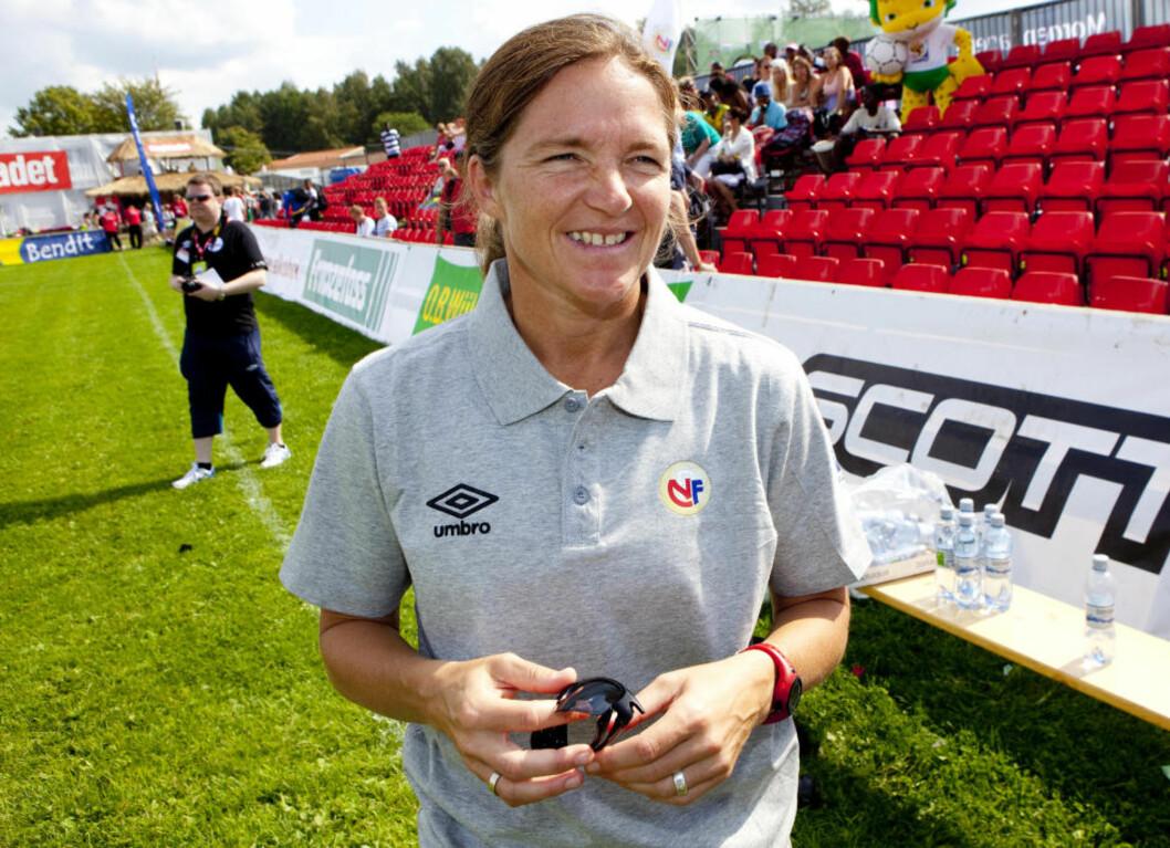 MINNER FRA SLETTA: Hege Riise er assistenttrener for det amerikanske kvinnelandslaget. I dag er hun på plass på Ekeberg. FOTO: TORBJØRN BERG / DAGBLADET