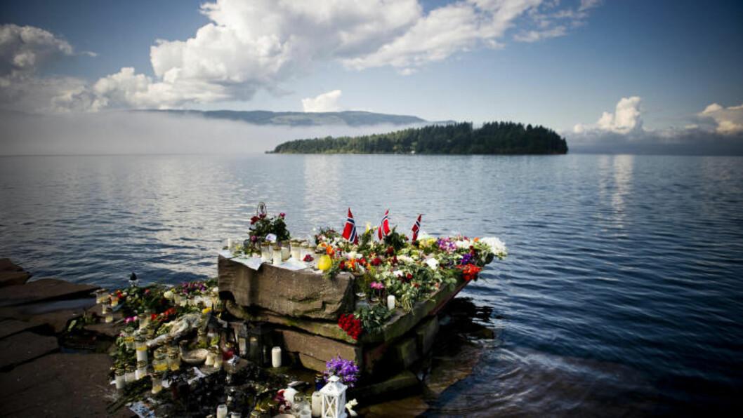 <strong>Sundvolden 20110728:</strong> Terror, angrepet på AUF-leiren på Utøya i Tyrifjorden.  Foto: Håkon Eikesdal Tlf: +47 926 07 916