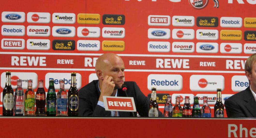 <strong> HARD MEDFART:</strong>  Tysk presse er ikke nådig i omtalen av Köln-trener Ståle Solbakken etter gårsdagens stortap hjemme mot Wolfsburg. Foto: Andreas B. Høyer