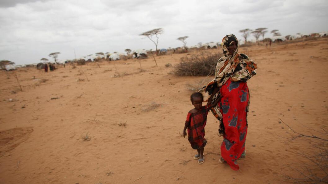 <strong>UMENNESKELIGE VALG:</strong> Foreldre i Somalia forteller at de har måttet velge mellom hvem av sine barn de skal satse på å redde. (Photo by Oli Scarff/Getty Images)