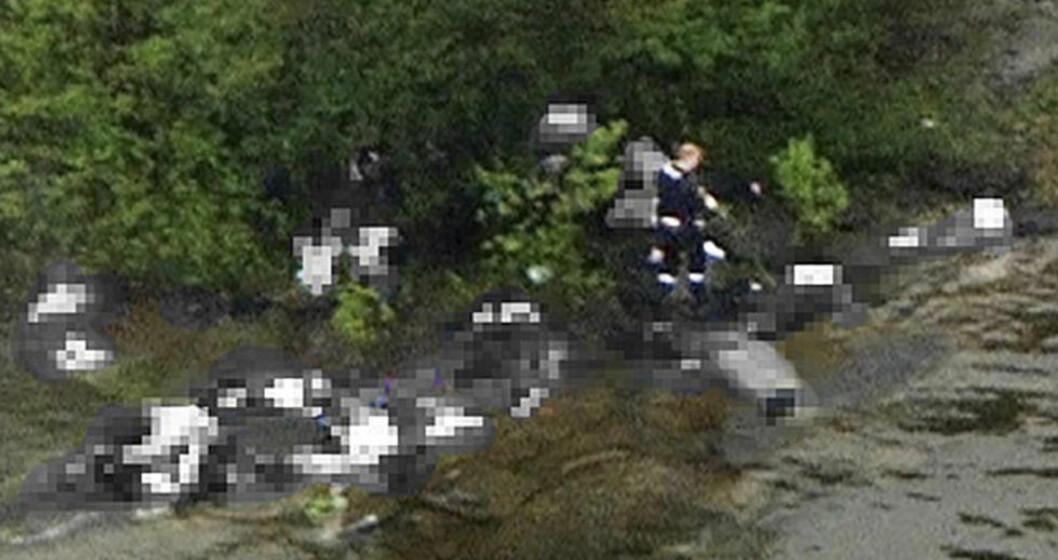 <strong>OVERLEVDE MARERITTET:</strong> 17-årige Anzor Djoukaev ble mistenkt for å ha samarbeidet med Anders Behring Breivik. Han ble holdt fanget til dagen etter. Foto:  REUTERS/Marius Arnesen/NRK/Scanpix