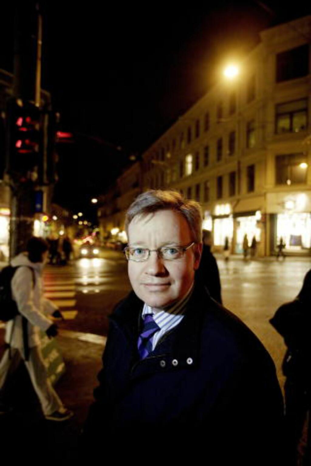 AVVISER JUKSEPÅSTANDER: Oslos skolebyråd Torger Ødegaard avviser juks ved Oslo-skolene. Foto: Torbjørn Grønning/Dagbladet