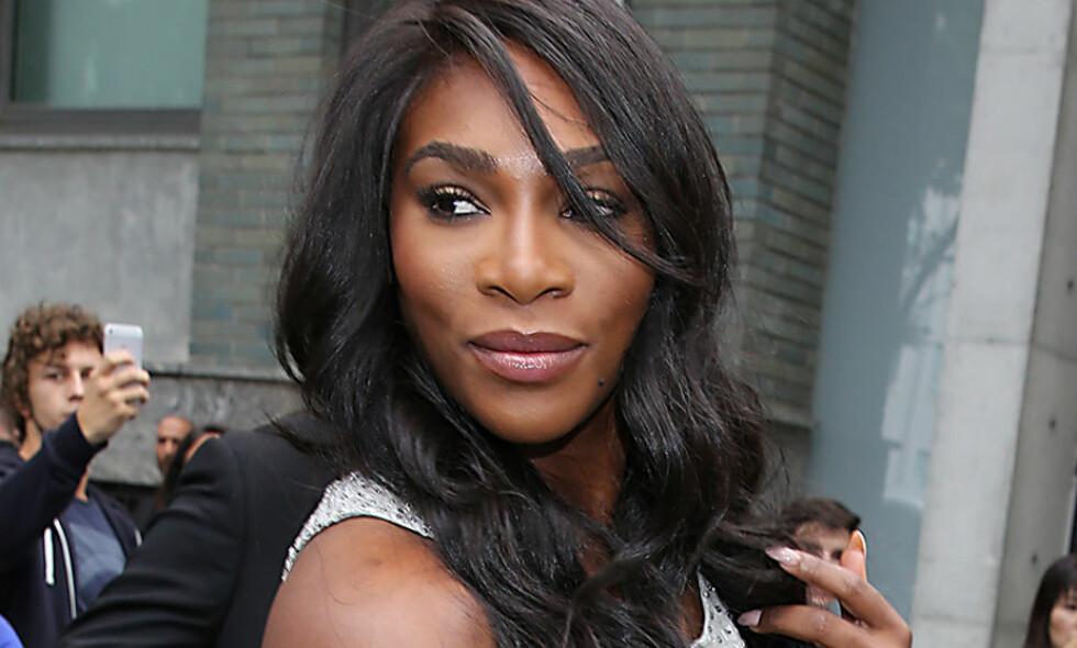 <p>GRAVID: Tidligere denne uken hintet den amerikanske tennis-stjernen, Serena Williams, om at hun var gravid. Nå er det bekreftet. Foto: NTB Scanpix </p>