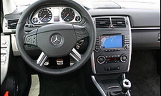 image: Mercedes B-klasse prøvekjørt