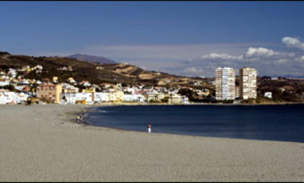 Torreguadiaro er en liten landsby ti minutter fra golfbanen. Foto: Vibeke Montero