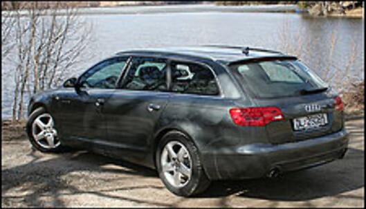 TEST: Audi A6 2.0T - det nye bensinturbo-alternativet