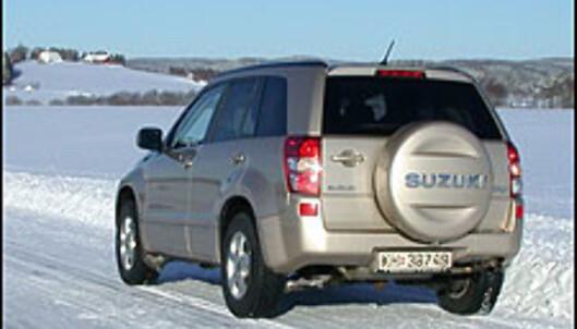 TEST: Grand Vitara med diesel - sterkt fra Suzuki