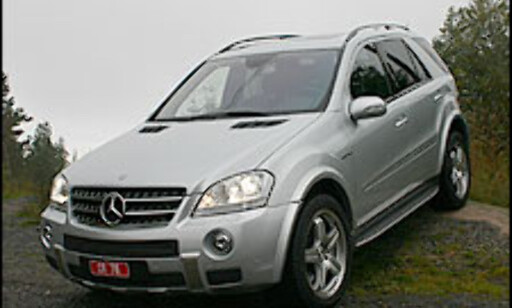image: TEST: Mercedes ML  63 AMG