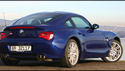 TEST: Jubelbilen BMW Z4 M Coupé