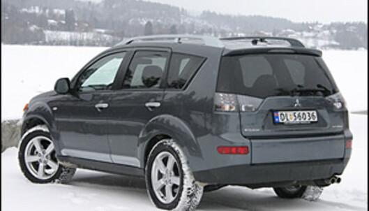 TEST: Outlander - den nye sjefen blant folke-SUVene
