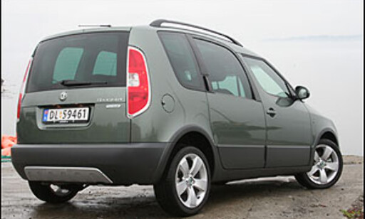 TEST: Skoda Roomster Scout 1.9 TDI