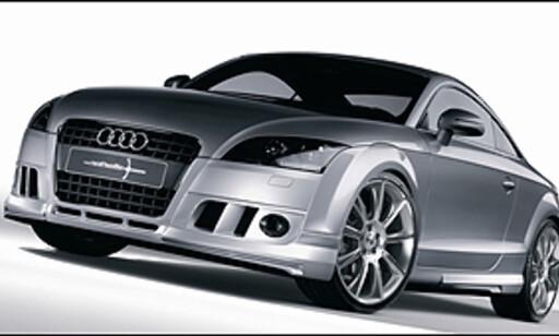 image: Audi R8 slått av en TT!