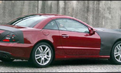 image: Mercedes SL med nytt ansikt