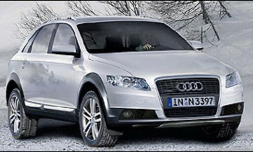 Vår samarbeidspartner Automedia tenker seg at Audi Q5 vil se omtrent slik ut. Bildet er manipulert.
